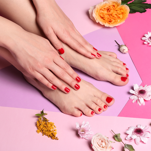 Manicure and Pedicure combo
